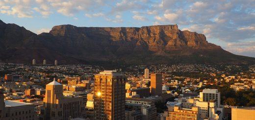 Kapské město - jižní afrika