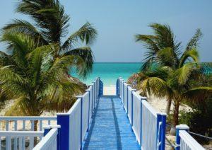 Pláže na Kubě