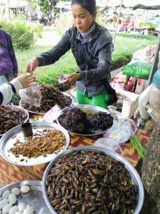 Kambodža - místní chuťovky