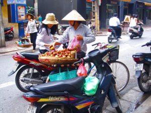 Vietnam - ulice v Hanoji, dovolená