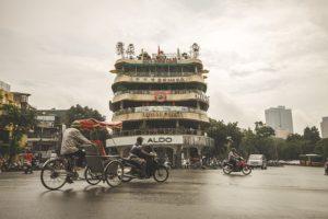 Na dovolené v Hanoji